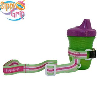 Sippygrip cup and bottle holder